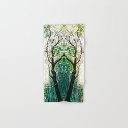 Bamboo Forest Geometry Hand & Bath Towel