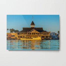 The Balboa Pavilion Metal Print