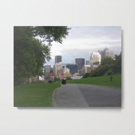 City view Metal Print