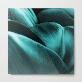 Green Succulent Leaves #decor #society6 #homedecor Metal Print