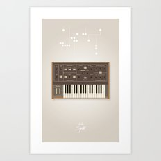 The Synth Project - Moog Prodigy Art Print