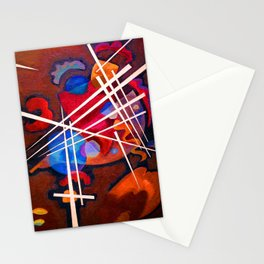 Wassily Kandinsky Gitterform Stationery Cards