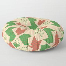Clover&Nessie Lime/Orange Floor Pillow
