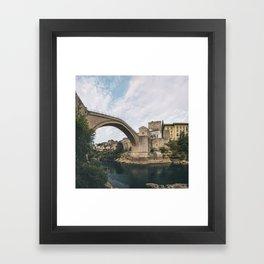 Mostar, Bosnia and Herzegovina Framed Art Print