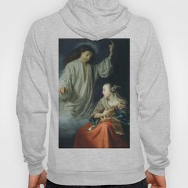 The Annunciation by Godfried Schalcken (1665) Hoody