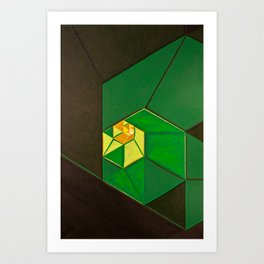 "South (""Elementals"" series) Art Print"