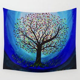 Colors of life Wall Tapestry