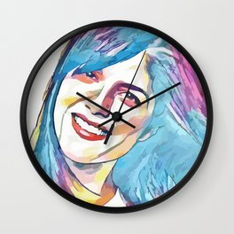 Selma Blair (Creative Illustration Art) Wall Clock
