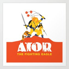 Ator: The Fighting Eagle Art Print