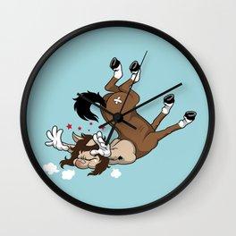 Clumsy Centaur Wall Clock