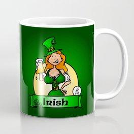 St. Patrick's Day Irish Maiden Coffee Mug