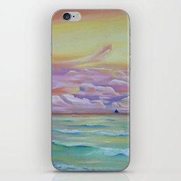 Boracay sunset iPhone Skin