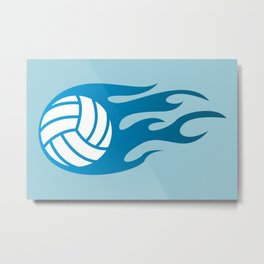 The Volleyball I Metal Print