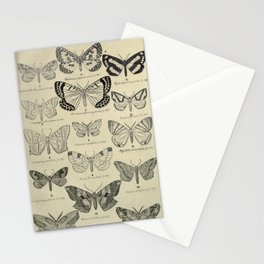 Vintage Butterfly Print - Lepidoptera from China, Japan and Korea (1897) 1 Stationery Cards