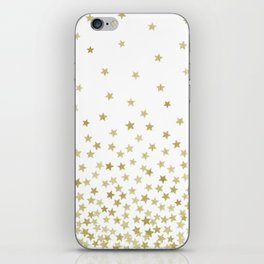 STARS GOLD iPhone Skin