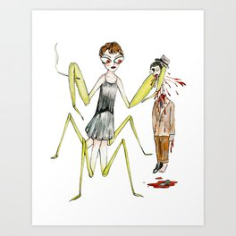 The Flapper Art Print