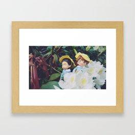 Haikyuu Iwaizumi Hazime Oikawa Tooru Framed Art Print