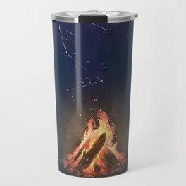 Campfire of Constellations Travel Mug
