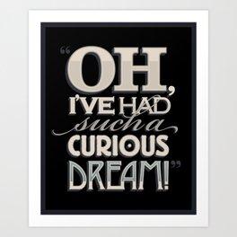 Curious Dream Art Print