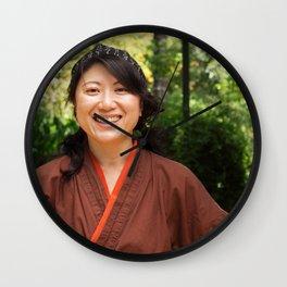 Japanese Women Wall Clock