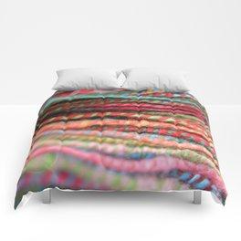 Handspun Yarn Color Pattern by robayre Comforters