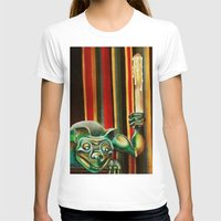 "haunted mansion T-shirts featuring Disneyland Haunted Mansion inspired ""Wall-To-Wall Creeps No.2"" by ArtisticAtrocities"