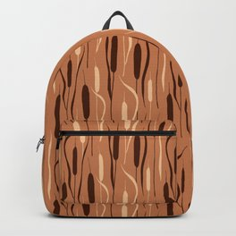 Cattails (Rust) Backpack