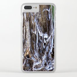 Lurking in the woods..... Clear iPhone Case