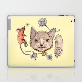 Al gato y al raton Laptop & iPad Skin