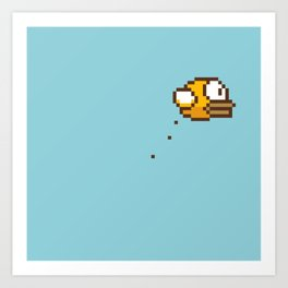 Crappy Bird I Art Print