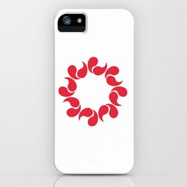 Flag of Saitama iPhone Case