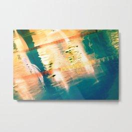 Swimming Pool 01A - Abstract Metal Print