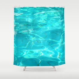 hot water Shower Curtain