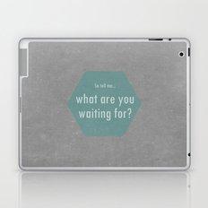 Concrete & Letters II Laptop & iPad Skin