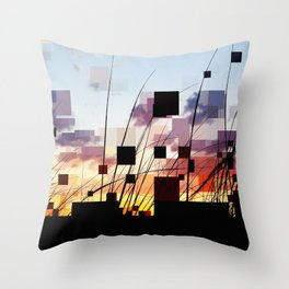 Sunset Dunes East Hampton Throw Pillow