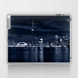 Toronto Skyline, Blue Laptop & iPad Skin