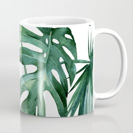 Simply Island Palm Leaves Coffee Mug
