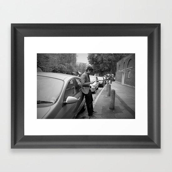 Mattlock Lane  Framed Art Print