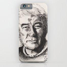 Seamus Heaney iPhone Case