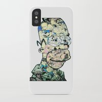 homer iPhone & iPod Cases featuring Homer Color by Drew Kochell