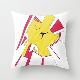 Parkour Runner Throw Pillow