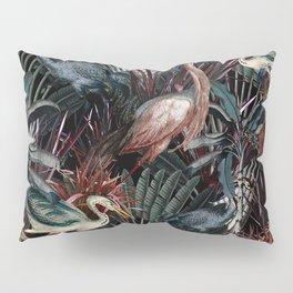 Floral and Birds XXXVIII Pillow Sham