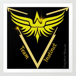 Instinct Team - Show Your Pride Art Print