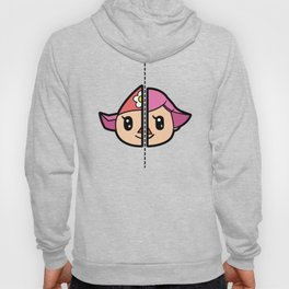 Old & New Animal Crossing Villager Female Hoody