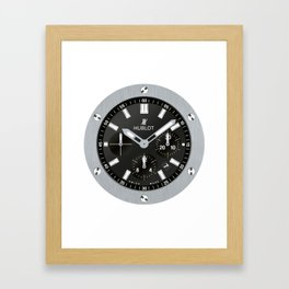 Hublot Big Bang - Steel - 301.SX.1170.RX Framed Art Print