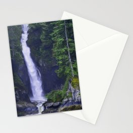 Softness Overcoming Hardness - West Coast Art Stationery Cards
