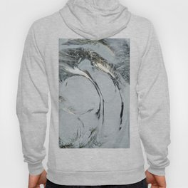 Abstract ice texture 9 Hoody