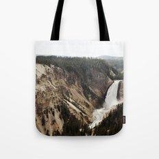 YELLOWSTONE WATERFALLSS Tote Bag