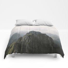 Flying Mountain Explorer - Landscape Photography Comforters