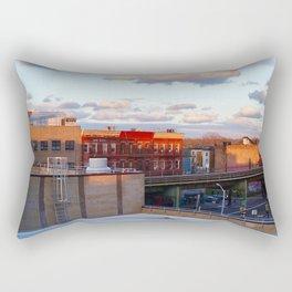 Sailing rooftops. Rectangular Pillow